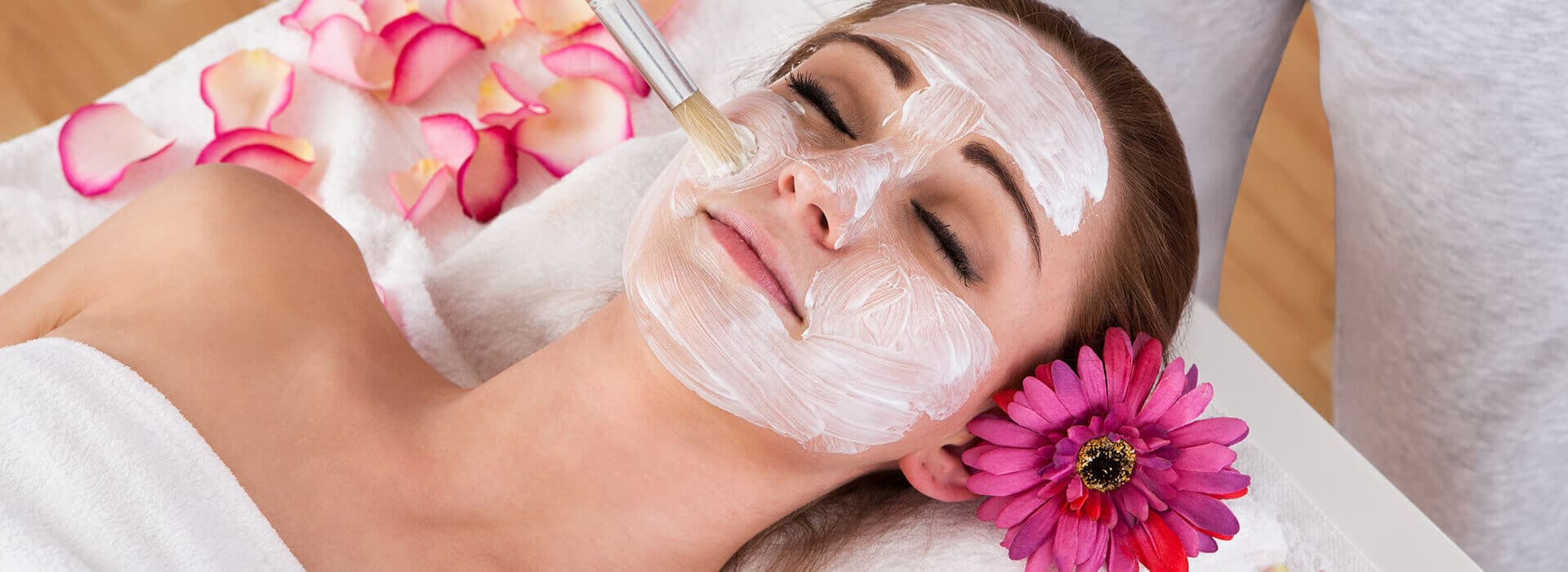 Spa facial peel #4